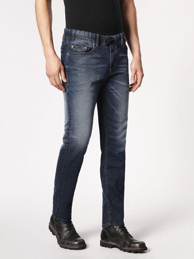 Diesel - Waykee JoggJeans 0683Y, Dark Blue - Jeans - Image 6