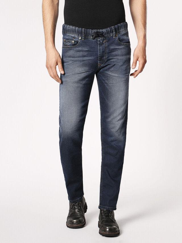 Diesel - Waykee JoggJeans 0683Y, Dark Blue - Jeans - Image 2