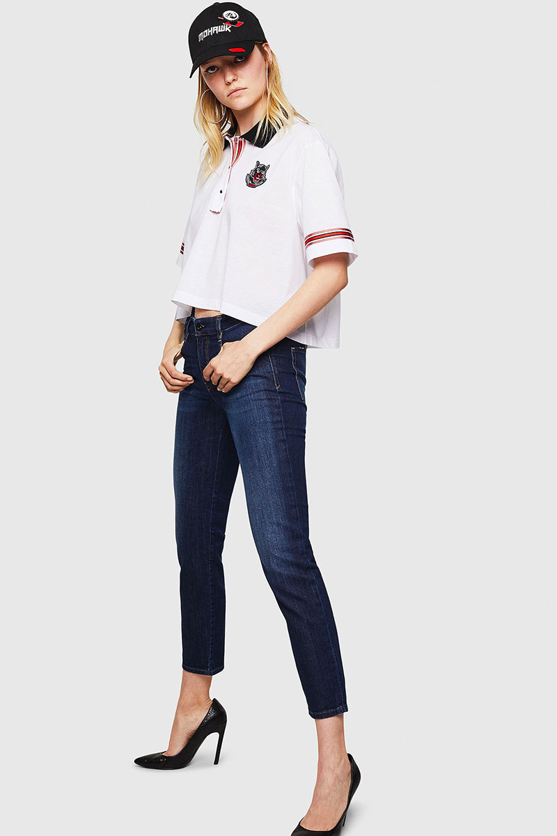 Diesel Jeans Woman Slim