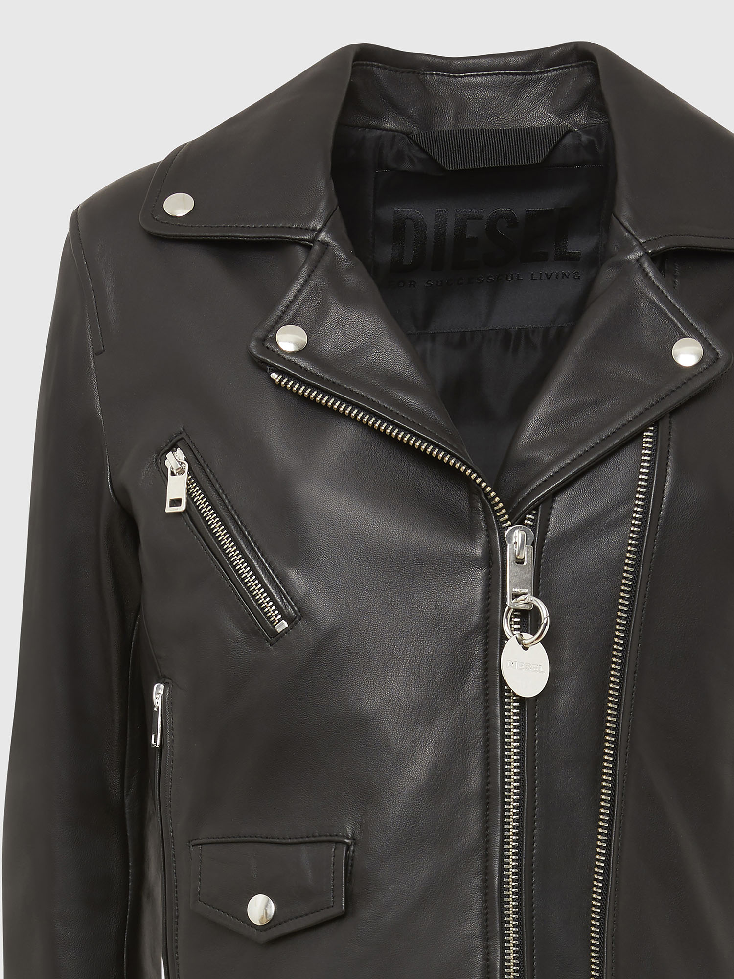 Diesel - L-LYFA,  - Leather jackets - Image 4